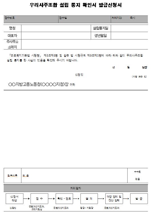 2호서식_우리사주조합 설립 통지 확인서 발급신청서.png